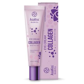 AsiaKiss Крем для кожи вокруг глаз с коллагеном - Collagen eye cream, 40мл