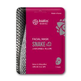 AsiaKiss Маска тканевая для лица с пептидом змеиного яда - Snake essence facial mask, 25г, По компонентам: Змеиный яд