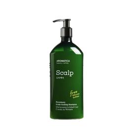 Aromatica Шампунь бессульфатный укрепляющий с розмарином - Rosemary scalp scaling shampoo, 400мл, Объем: 400мл
