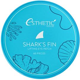 Esthetic House Патчи гидрогелевые для глаз плавник акулы - Shark's fin lifting eye patch, 60шт
