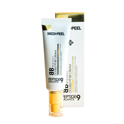 Medi-Peel BB-крем омолаживающий с пептидами - Peptide balance9 double fit bb cream SPF33/PA+++, 50мл
