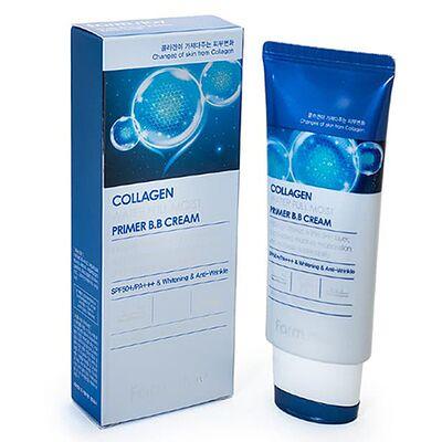 FarmStay ББ-крем с коллагеном увлажняющий - Collagen water full moist primer bb cream, 50г