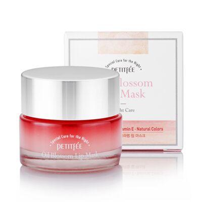 Petitfee Маска для губ с маслом камелии - Oil blossom lip mask (Camellia seed oil), 15г