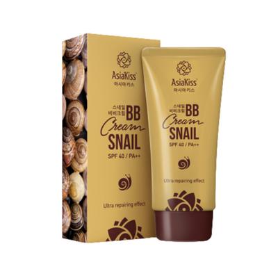 AsiaKiss Крем BB с муцином улитки - Snail BB cream, 60мл, По компонентам: Муцин улитки, Объем: 60 мл
