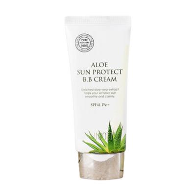 Jigott Крем тональный для лица - Aloe sun protect BB cream SPF41 PA++, 50мл