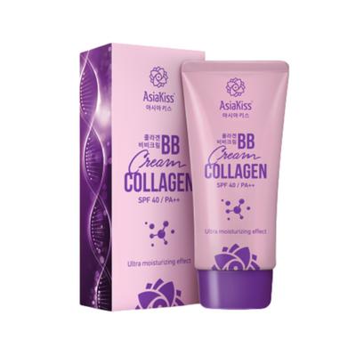 AsiaKiss Крем BB с коллагеном - Collagen BB cream, 60мл, По компонентам: Коллаген, Объем: 60 мл