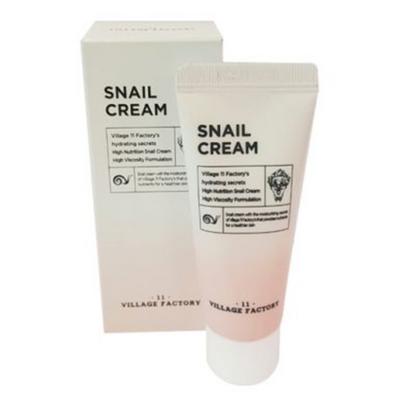 Village 11 Factory ВВ-крем увлажняющий с экстрактом муцина улитки - Snail cream, 20мл
