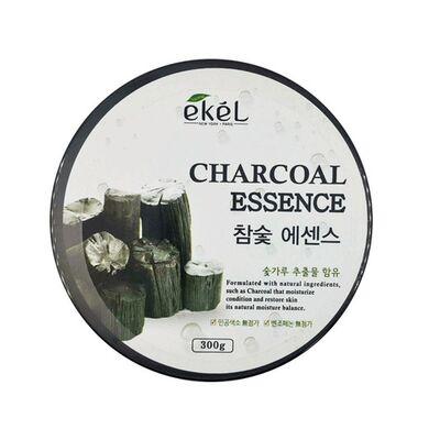Ekel Гель успокаивающий с экстрактом древесного угля - Soothing gel charcoal, 300мл