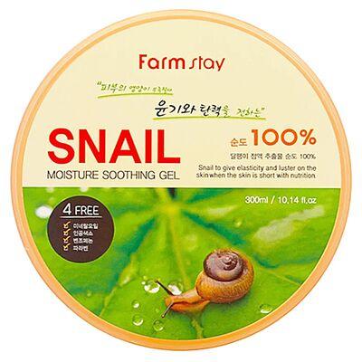 FarmStay Гель многофункциональный с экстрактом улитки - Moisture soothing gel snail, 300 мл
