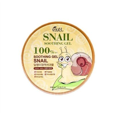 Ekel Гель успокаивающий с муцином улитки - Snail soothing gel 97%, 300мл