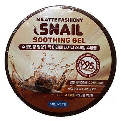 Milatte Гель универсальный увлажняющий - Fashiony snail soothing gel, 300мл