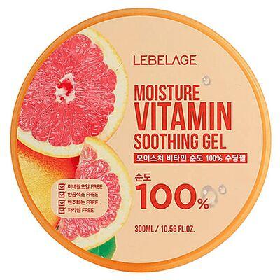 Lebelage Гель увлажняющий успокаивающий с витаминами - Moisture vitamin soothing gel, 300мл