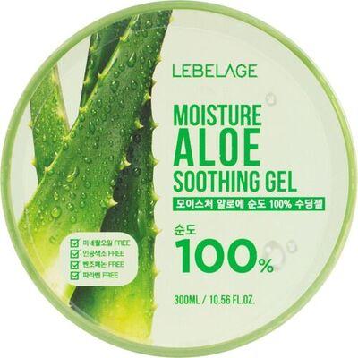 Lebelage Гель для лица и тела увлажняющий успокаивающий с алоэ - Aloe sothing gel, 300мл
