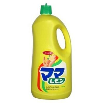 Lion Средство для мытья посуды с ароматом лимона – Mama lemon, 2150мл