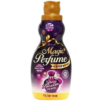 Mukunghwa Кондиционер для белья и одежды «белые цветы» - Aroma viu magic perfume softner, 1л