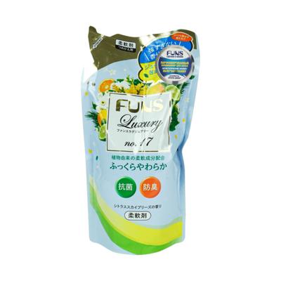Funs Кондиционер для белья с антибактериальным эффектом и ароматом цитруса з/б, 480мл