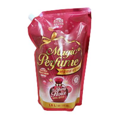 Mukunghwa Кондиционер для белья и одежды «персик и роза» з/б - Aroma viu magic perfume softner, 1,6л