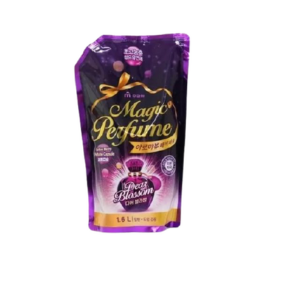 Mukunghwa Кондиционер для белья и одежды «белые цветы» з/б - Aroma viu magic perfume softner, 1,6л