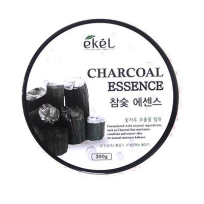 AsiaKiss Гель с угольной эссенцией - Charcoal essence soothing gel, 300мл
