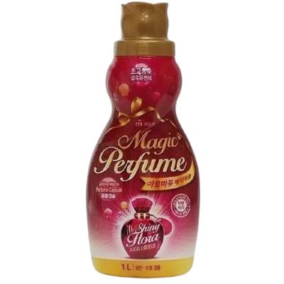 Mukunghwa Кондиционер для белья и одежды «персик и роза» - Aroma viu magic perfume softner, 1л