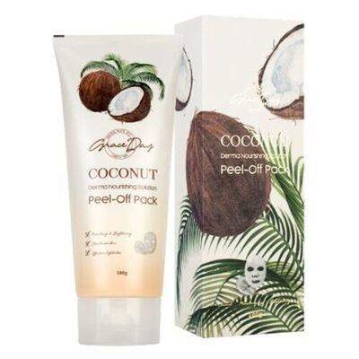 Grace Day Маска-пленка очищающая с кокосом - Coconut derma nourishing solution peel-off pack, 180г