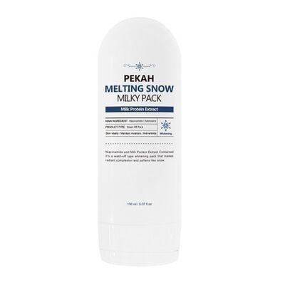 Pekah Маска для лица молочная осветляющая - Melting snow, 150мл