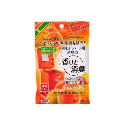 Sanada Seiko Поглотитель запахов для мусорных ведер с ароматом цитрусов, 1шт