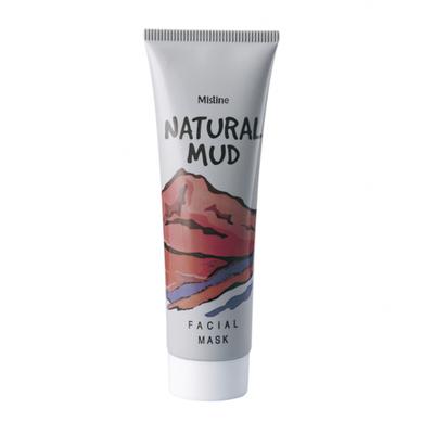 Mistine Маска-пленка для лица грязевая «глина и бамбуковый уголь» - Natural mud facial mask, 85г