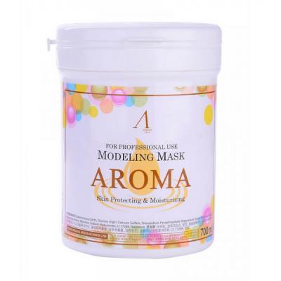 Питательная антивозрастная альгинатная маска Anskin Modeling Mask Aroma 240 гр + банка для хранения, Объем: 240гр (банка)