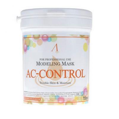 Альгинатная маска для проблемной кожи Anskin AC-Control Modeling Mask — 240 гр + банка для хранения, Объем: 240гр (банка)
