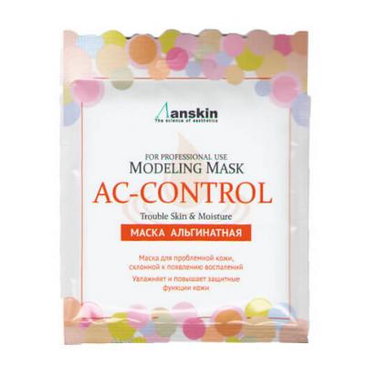 Альгинатная маска для проблемной кожи Anskin AC-Control Modeling Mask, 25гр, Объем: 25гр