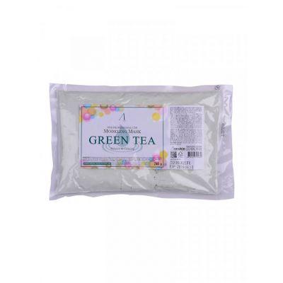 Альгинатная маска с зелёным чаем Anskin Modeling Mask Green Tea For Balance & Calming, 240гр, Объем: 240гр (мягкая упаковка)