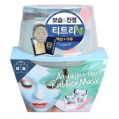 Lindsay Маска альгинатная с маслом чайного дерева (пудра+активатор) - Aqua(tea-tree) magic mask, 72г