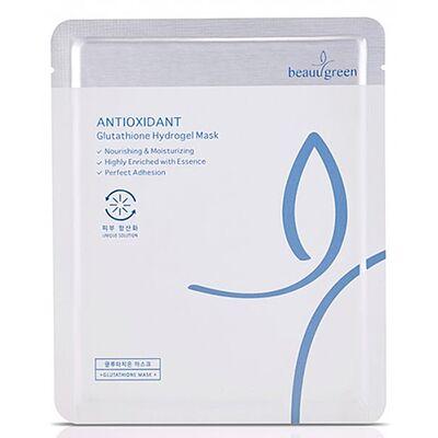 BeauuGreen Маска для лица гидрогелевая с антиоксидантами - Antioxidant glutathione hydrogel, 30г
