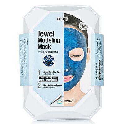 Konad Маска моделирующая для лица с сапфировой пудрой - Jewel modeling mask aqua sapphire, 55г