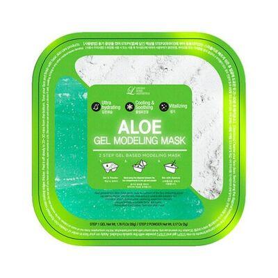 Lindsay Маска альгинатная гелевая маска с алоэ (пудра+гель) - Aloe gel modeling mask, 55г