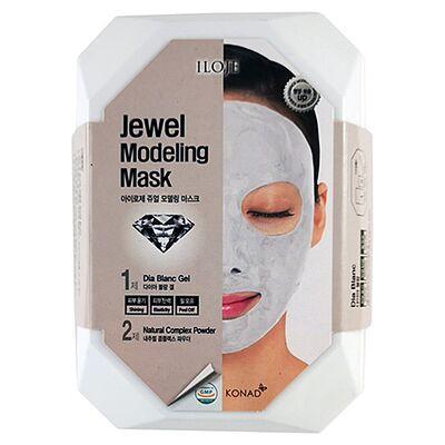 Konad Маска моделирующая для лица с алмазной пудрой - Jewel modeling mask dia blanc, 55г
