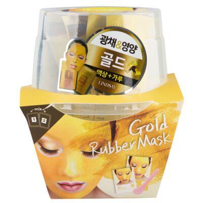 Lindsay Маска альгинатная с коллоидным золотом (пудра+активатор) - Gold magic mask, 72г