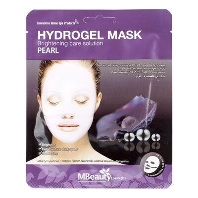 MBeauty Маска с жемчугом осветляющая гидрогелевая - Pearl hydrogel mask, 25г