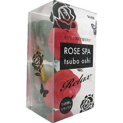 Vess Массажер для точечного массажа тела - Rose spa tsubo oshi, 38г