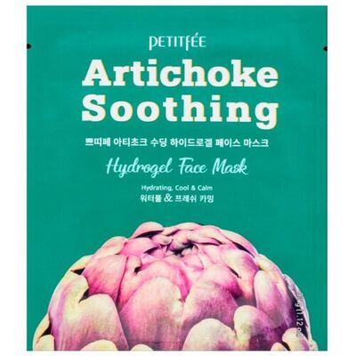 Petitfee Маска гидрогелевая с артишоком - Artichoke soothing hydrogel face mask, 32г