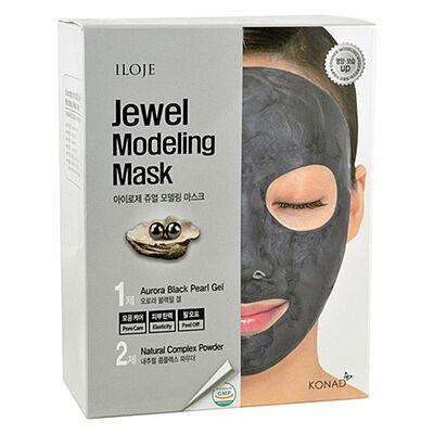 Konad Маска моделирующая с черным жемчугом - Jewel modeling mask aurora black pearl, 5шт*55г