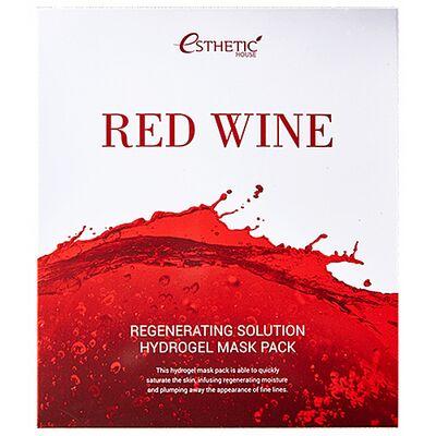 Esthetic House Маска гидрогелевая с экстрактом красного вина - Red wine regenerating solution, 28мл