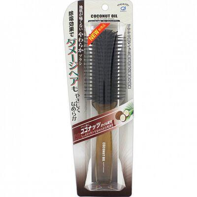 Ikemoto Щетка для волос с кокосовым маслом - Coconut blow styling brush, 1шт