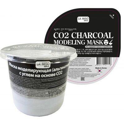 La Miso Маска альгинатная с углем на основе - CO2 charcoal modeling mask, 28г