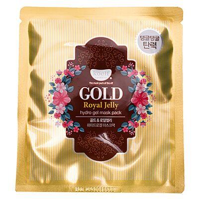 Koelf Маска гидрогелевая с золотом и маточным молочком - Gold royal jelly mask, 30г