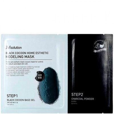 JMsolution Маска с протеинами шелкопряда и углем - Silkworm and charcoal mask, 55г