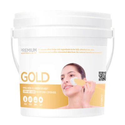 Lindsay Маска альгинатная с коллоидным золотом - Premium gold modeling mask (bucket), 820г