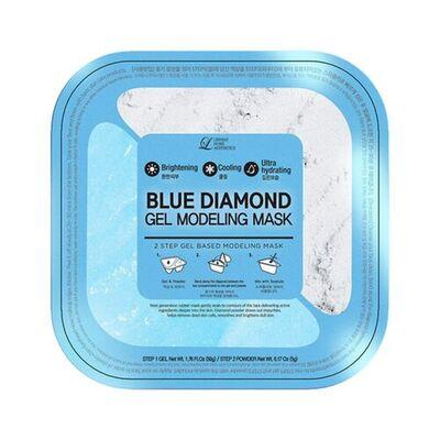 Lindsay Маска альгинатная гелевая c алмазной пудрой(пудра+гель) - Diamond gel modeling mask, 55г