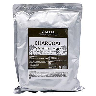 Callia Маска альгинатная для лица - Charcoal modeling mask, 1л